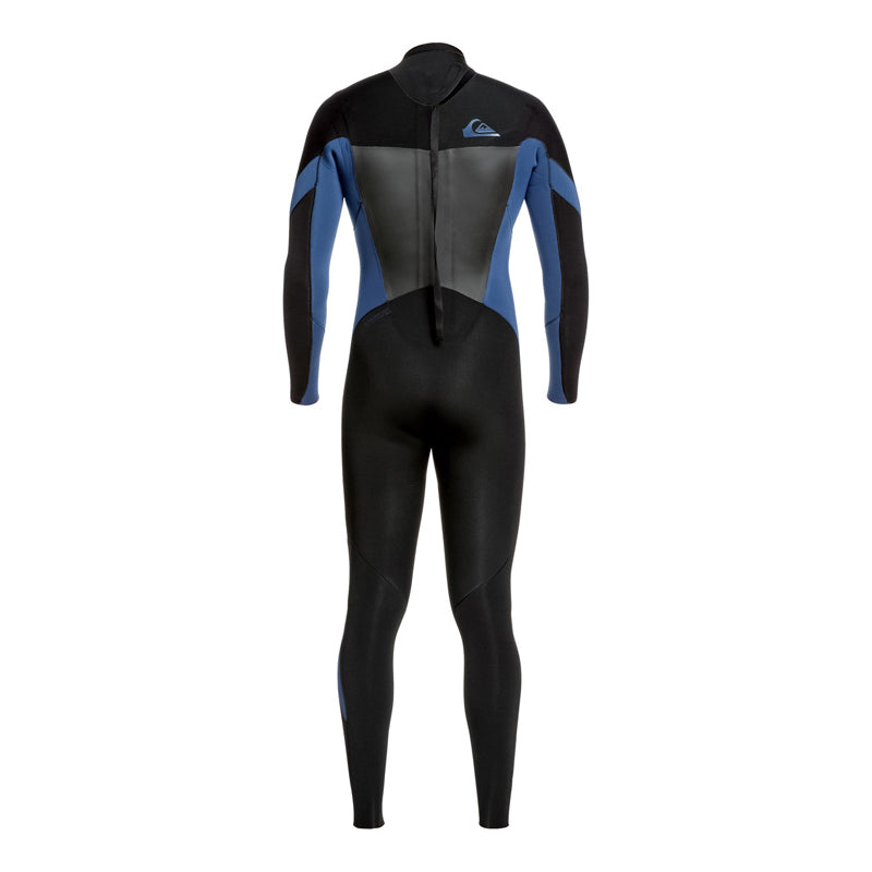 Quiksilver Men's 4/3mm Syncro Back Zip GBS Fullsuit Wetsuit FA19
