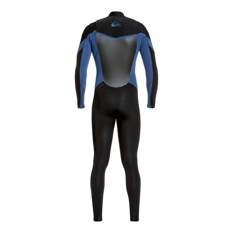 Quiksilver Men's 4/3mm Syncro Chest Zip GBS Fullsuit Wetsuit FA19