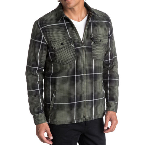 Quiksilver Cypress Road Long Sleeve Overshirt