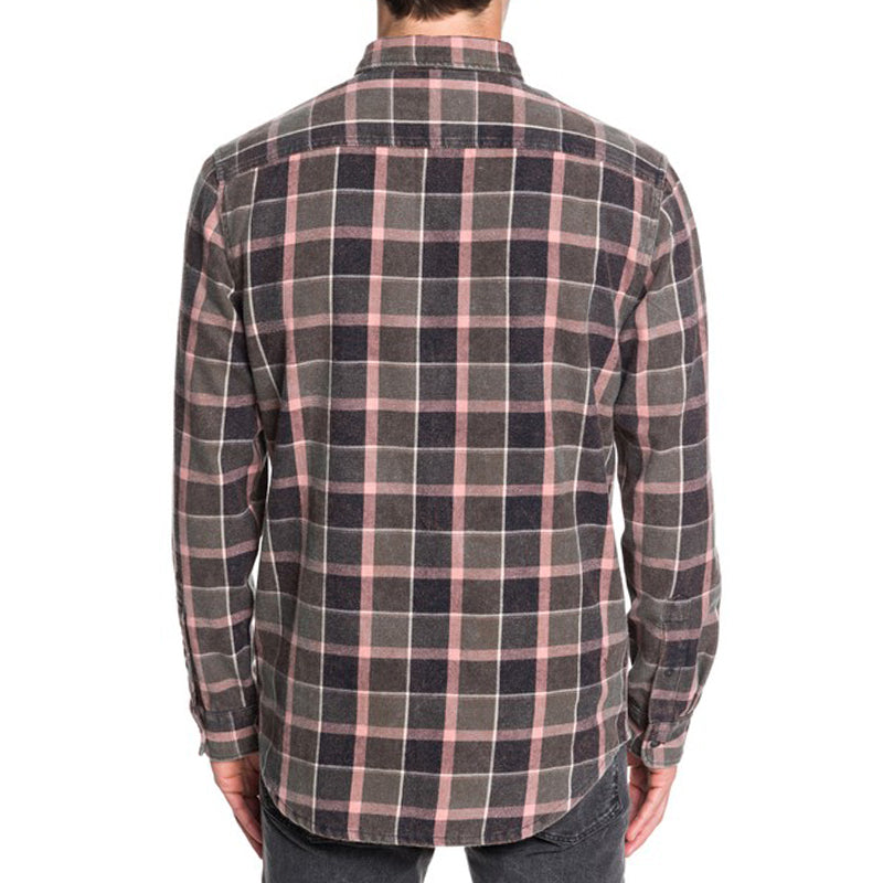 Quiksilver Mitta Tand Long Sleeve Button Down Flannel