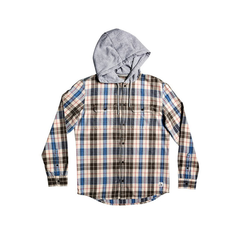 Quiksilver Mitta Tang Long Sleeve Hooded Flannel