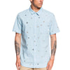 Faded Sun Short Sleeve Button Down Shirt