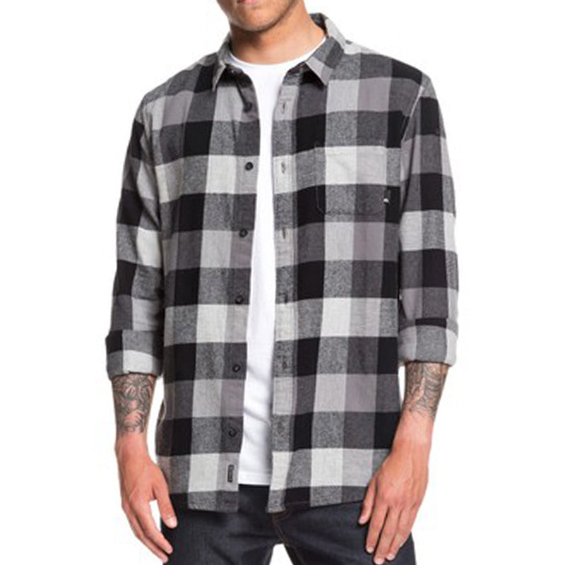 Quiksilver Motherfly Long Sleeve Flannel