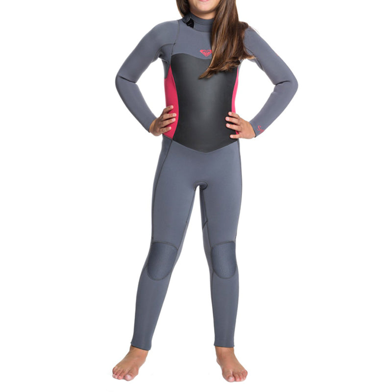 Roxy Girl's 4/3mm Syncro Series Back Zip GBS Fullsuit Wetsuit FA19