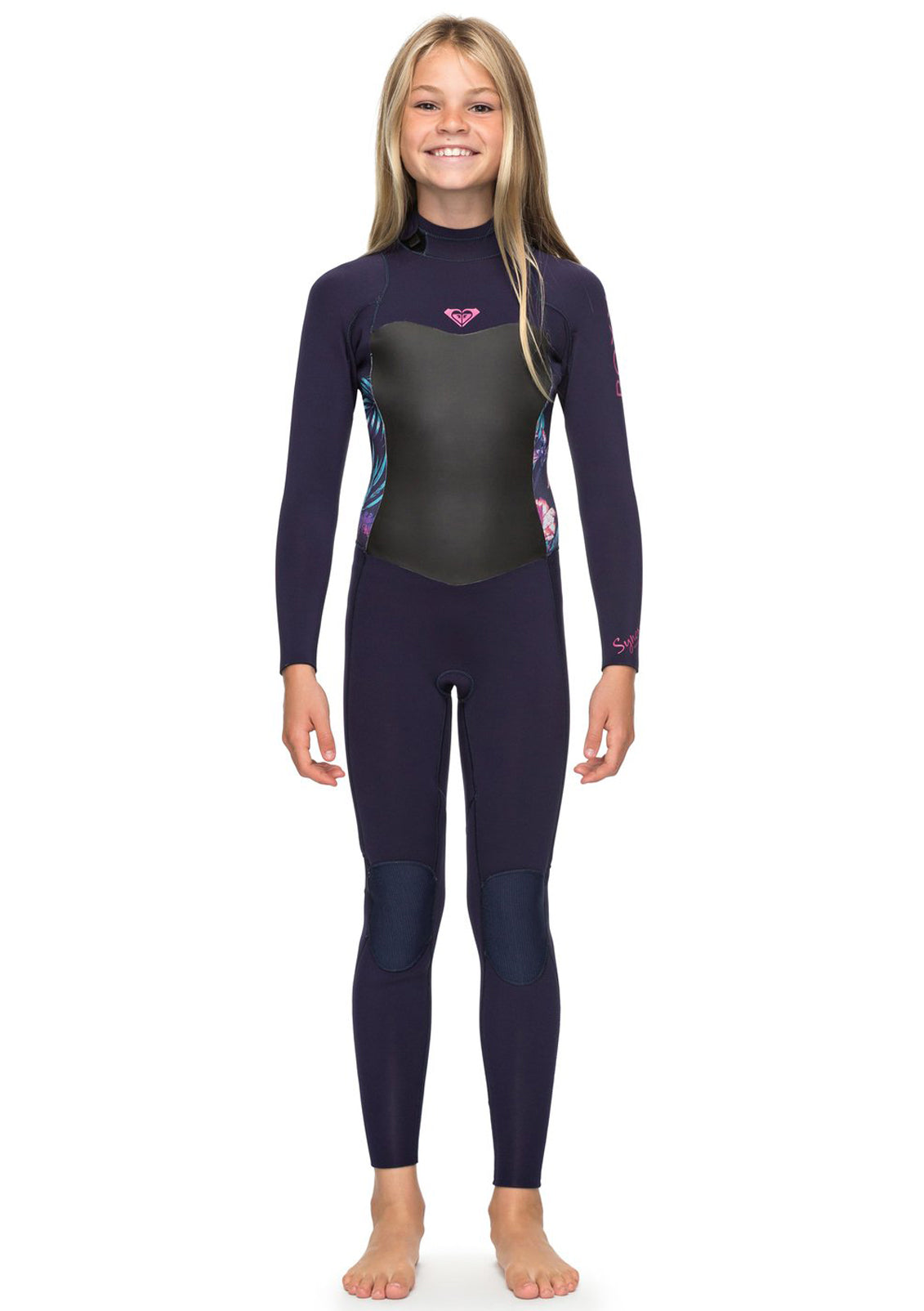 Roxy Girls 4/3 Syncro Series Back Zip GBS Wetsuit