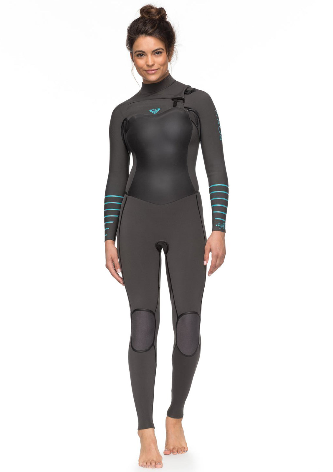 Roxy Womens 4/3 Syncro Plus Chest Zip Wetsuit