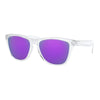 Frogskins Polished Clear w/ Prizm Violet Sunglasses