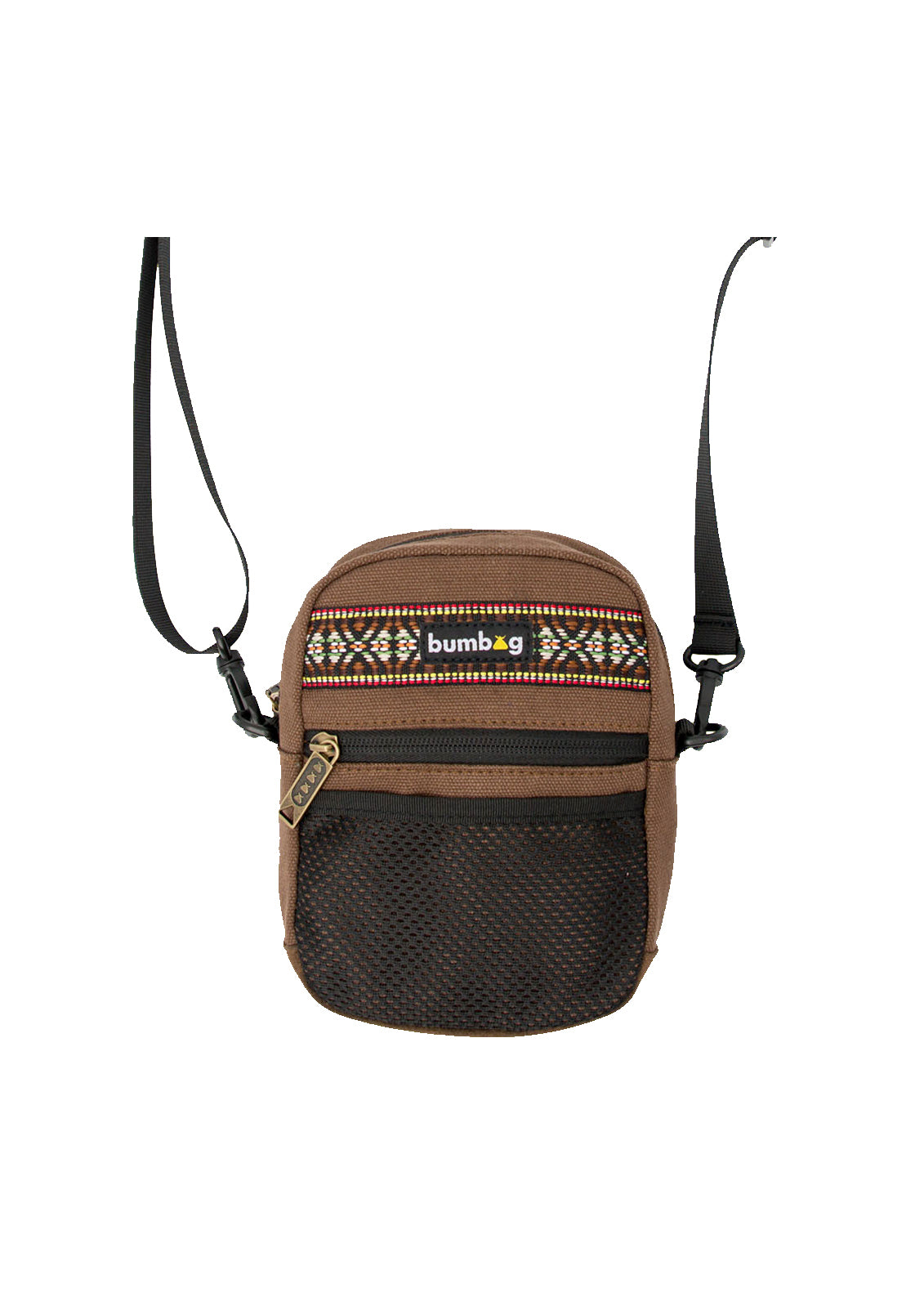 Explorer Compact Shoulder Bag Brown