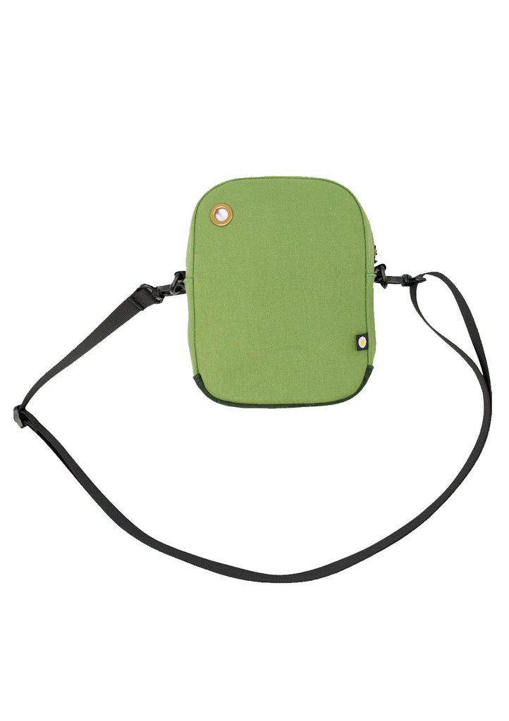 Explorer Compact Shoulder Bag Green
