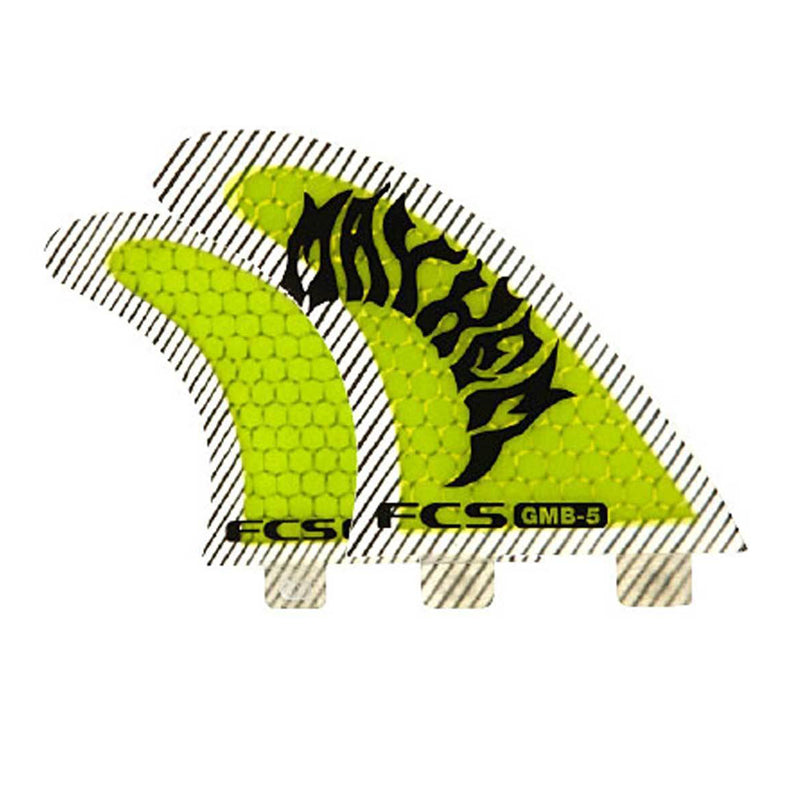 FCS GMB PC Thruster Set Surf Fins