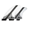 FCS II FW PC Carbon Tri-Quad Set Fins