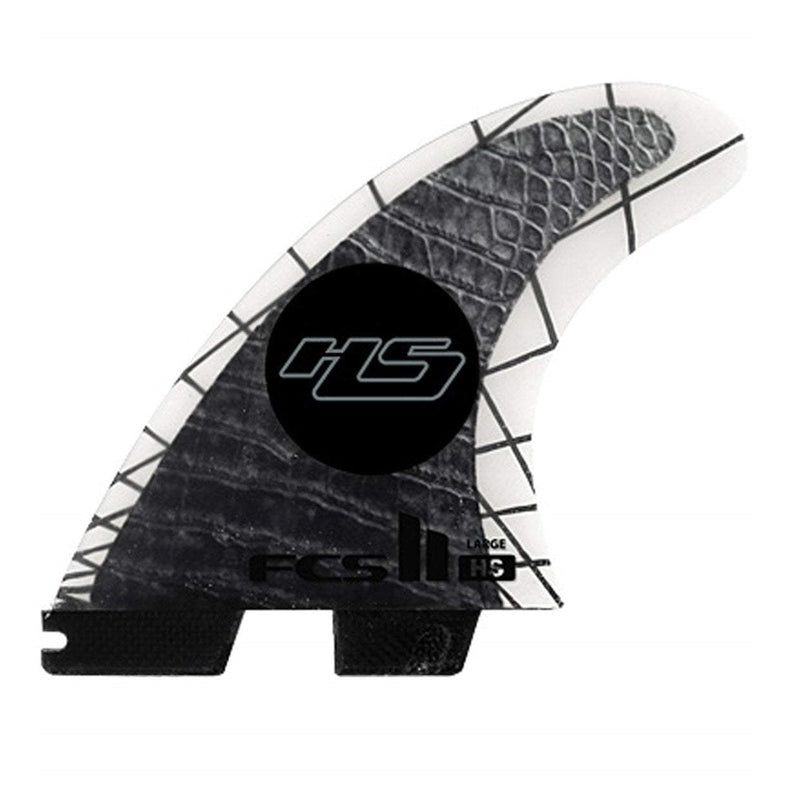 FCS II HS PC Carbon Tri-Quad Surf Fins