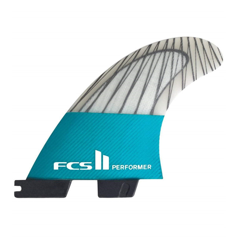 FCS II Performer PC Carbon Tri Set Surf Fins