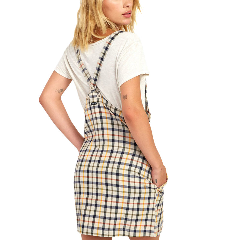Womens Allen Plaid Dress