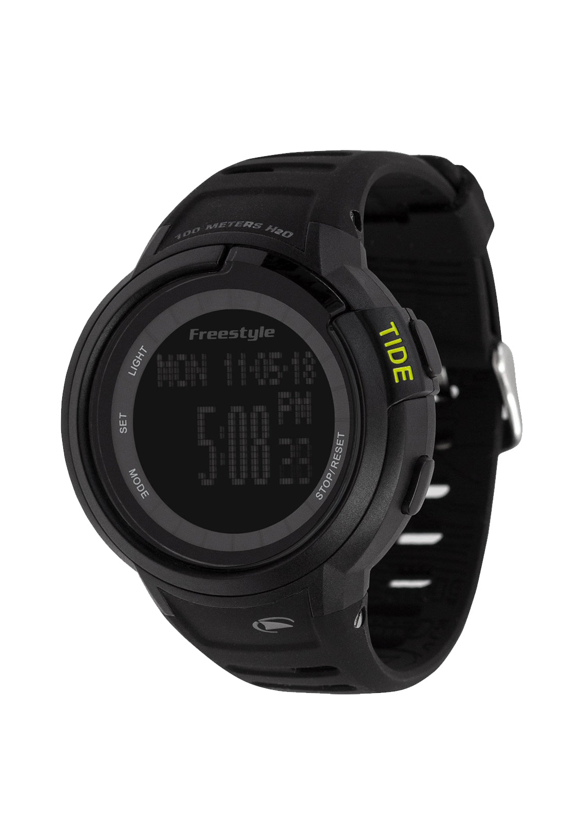 Mariner Tide Watch Black/Black/Yellow