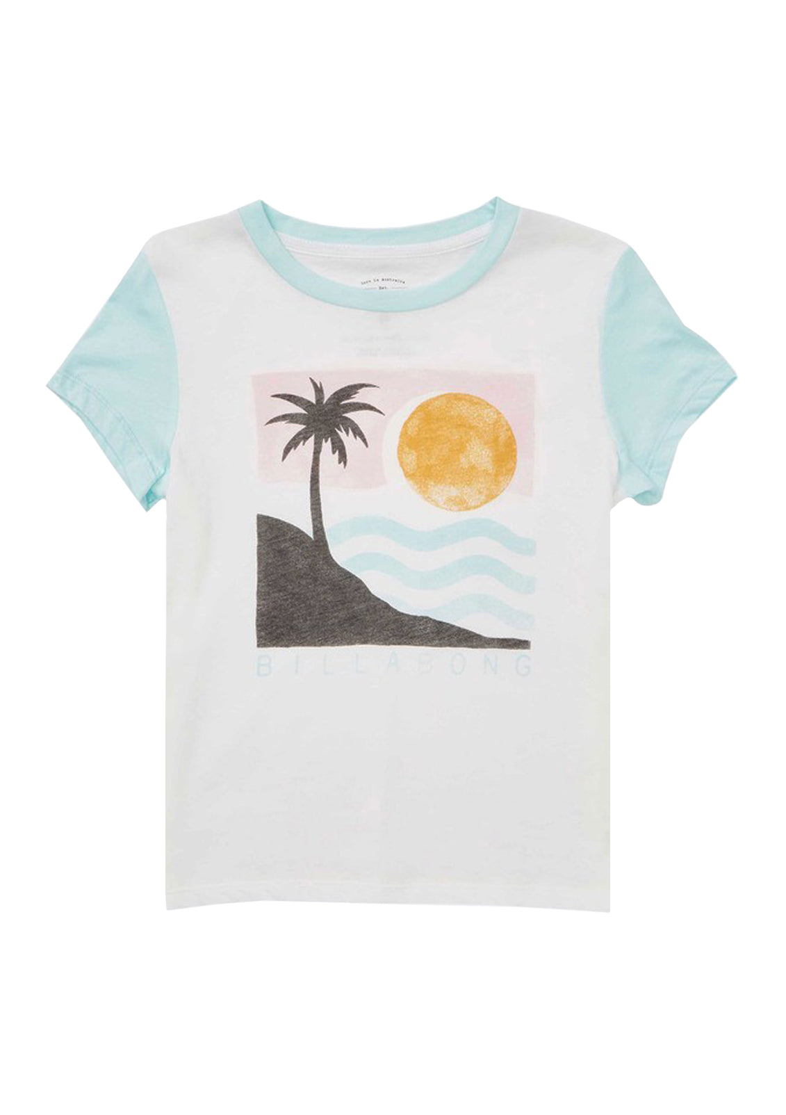 Girl's Waves For Days Tee