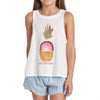 Billabong Girls Rainbow Pineapple Tank-Top
