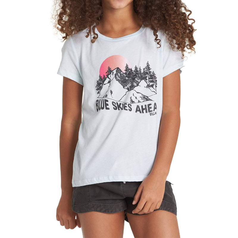 Girls Blue Skies Ahead Tee