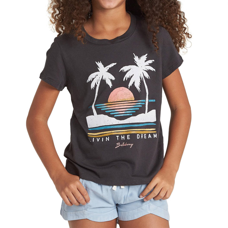 Girls Sunset Vibes Tee