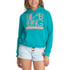 Girls Neon Billabong Sweatshirt