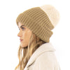 Womens Block Party Knit Beanie