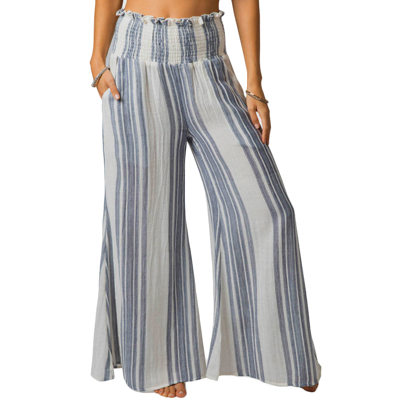 Woman's Seaside Stripe Pants