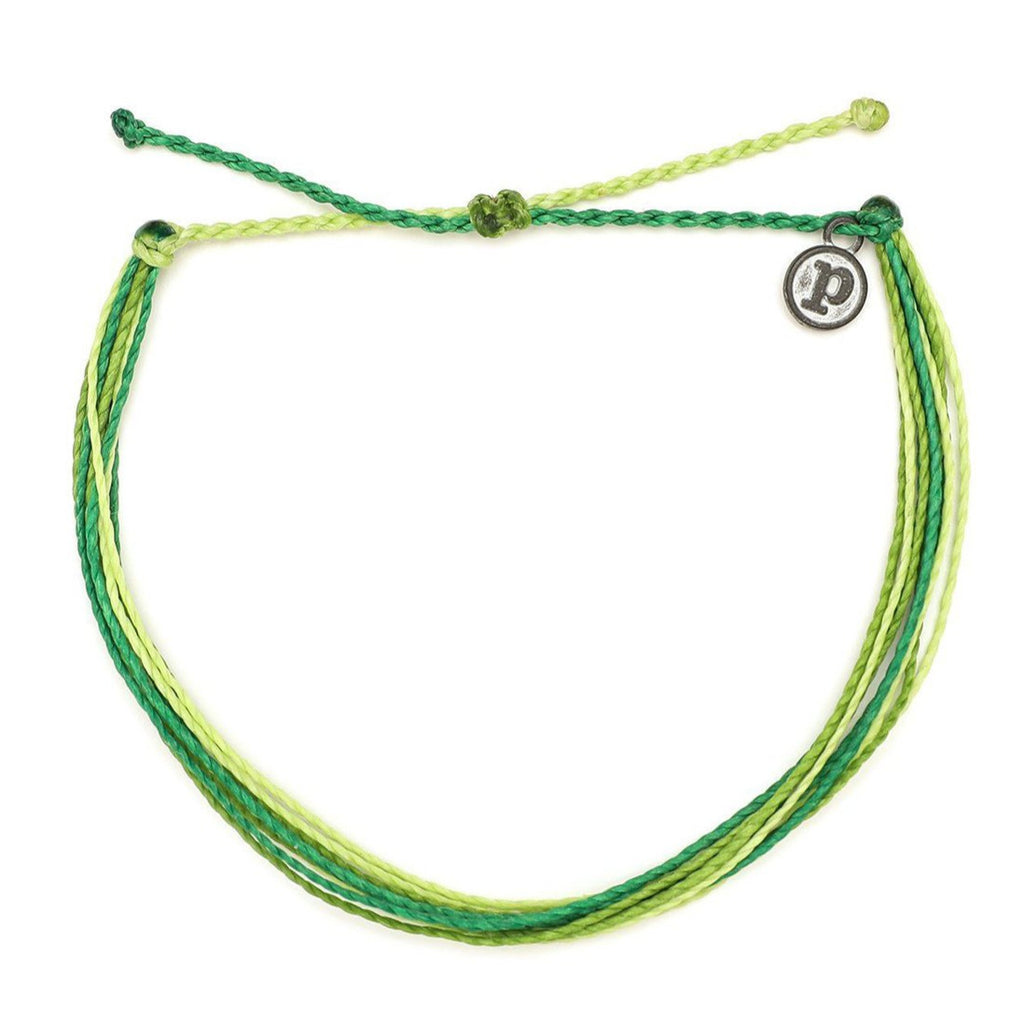 Pura Vida Grass Is Always Greener Anklet