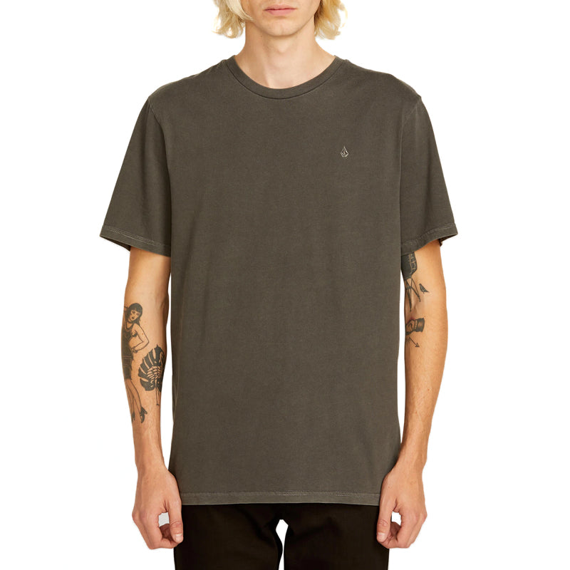 Solid Stone S/S Emblem Tee