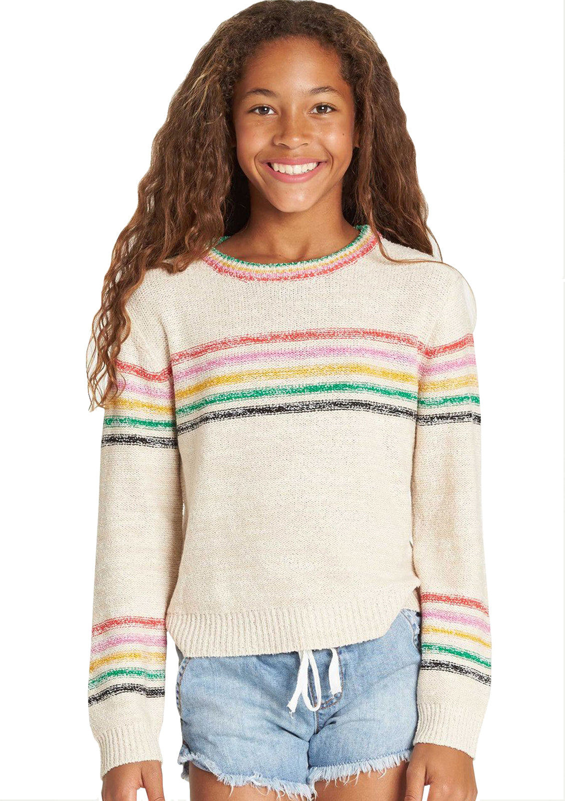 Girl's Sun Rays Sweater