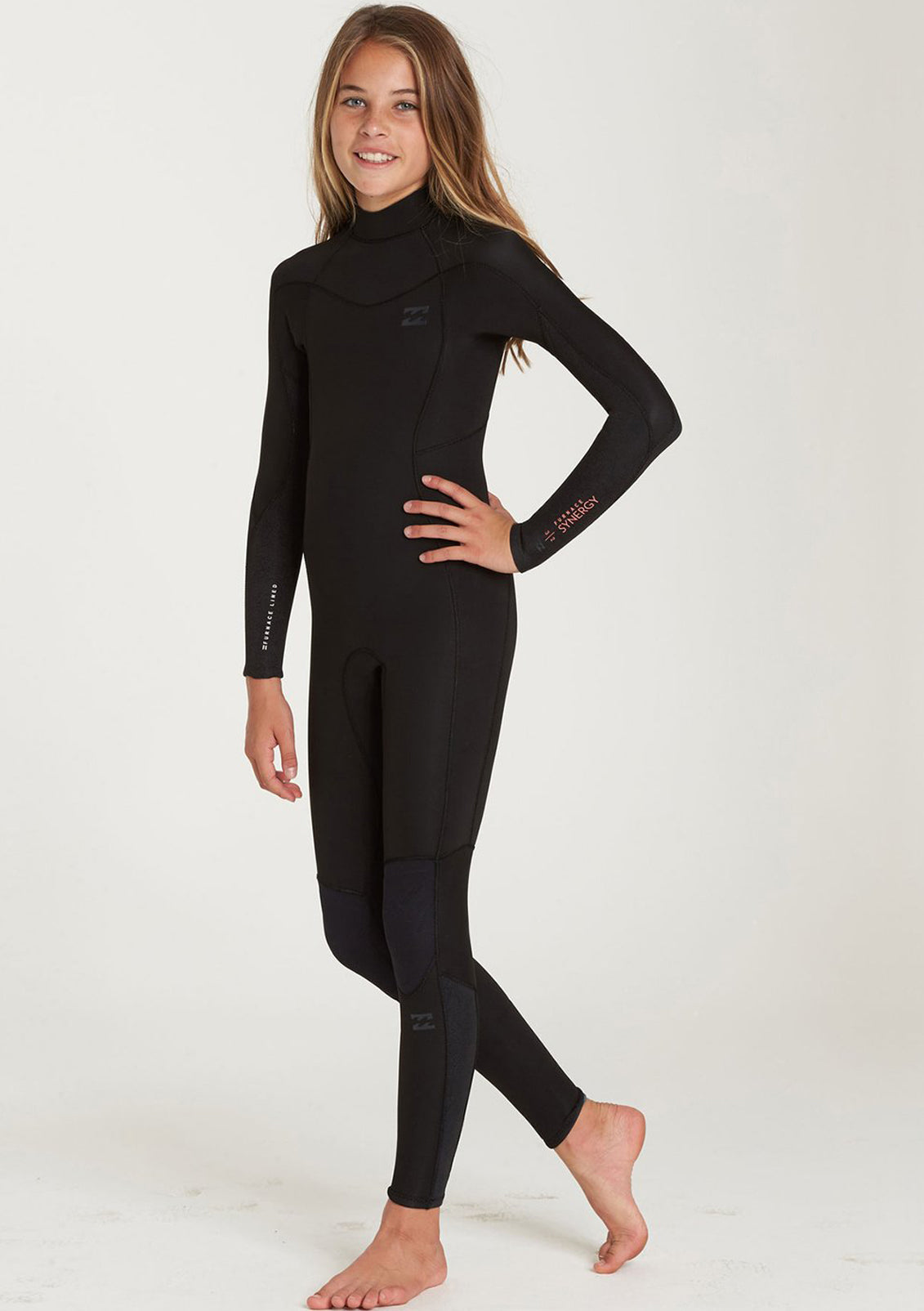 Billabong Girls 4/3 Furnace Synergy Back Zip Wetsuit