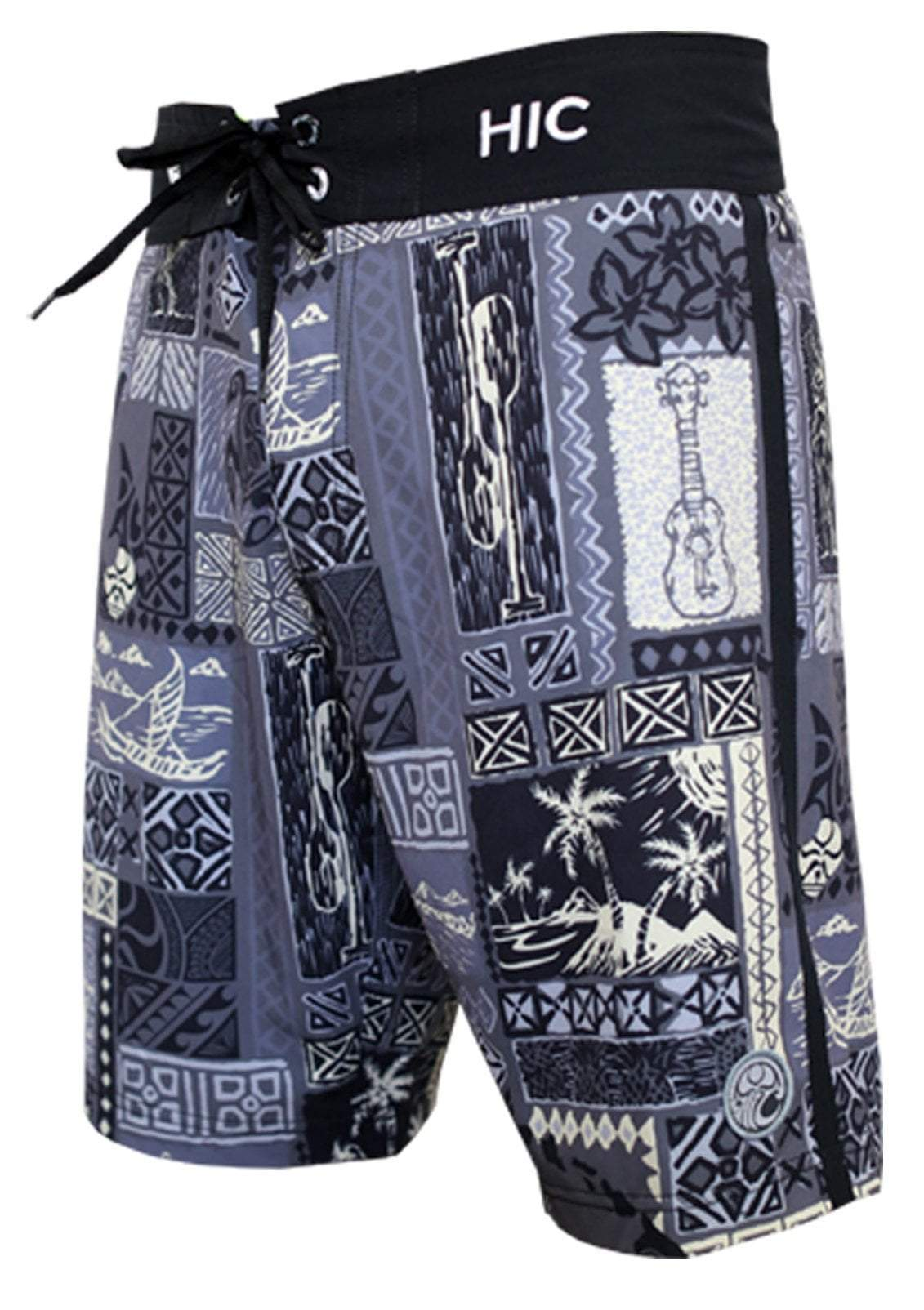 HIC Silver Channel Boardshorts