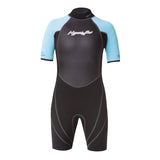 Hyperflex Boy's Access 2mm Junior S/S B/Z Springsuit Wetsuit FA19
