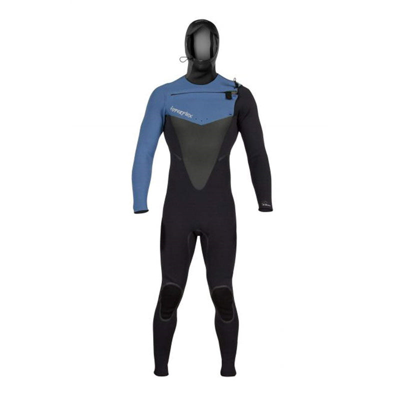 Hyperflex Men's 5/4/3mm Voodoo Hooded Chest Zip Fullsuit Wetsuit