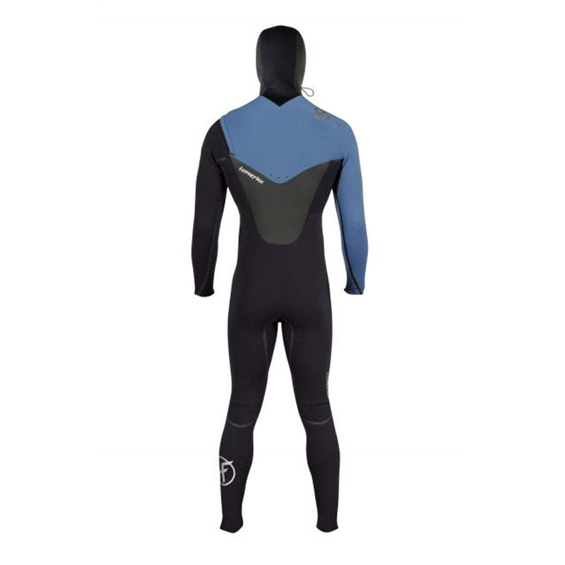Hyperflex Men's 5/4/3mm Voodoo Hooded Chest Zip Fullsuit Wetsuit FA19