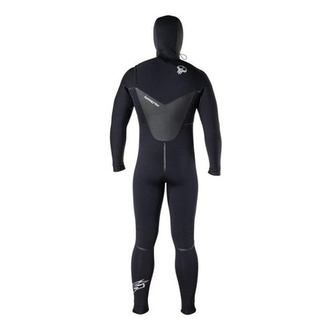 Hyperflex Men's 6/5/4mm Voodoo Hooded Fullsuit Wetsuit