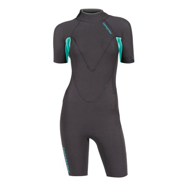 Hyperflex Womens VYRL 2.5mm Back Zip Springsuit Wetsuit