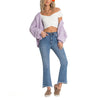 Womens Cheeky Straight Leg Jeans
