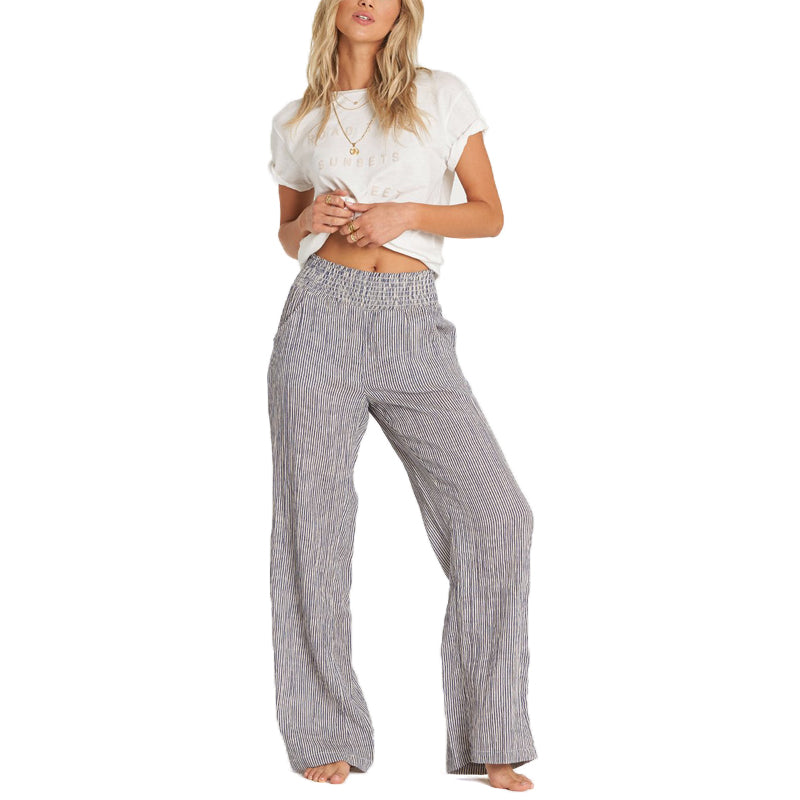 Womens New Waves Stripe Pants
