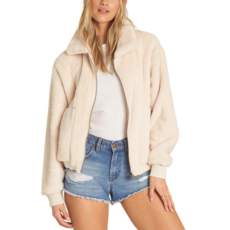 Womens Always Cozy Fleece Jacket