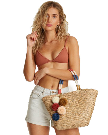 Nature Calls Straw Tote