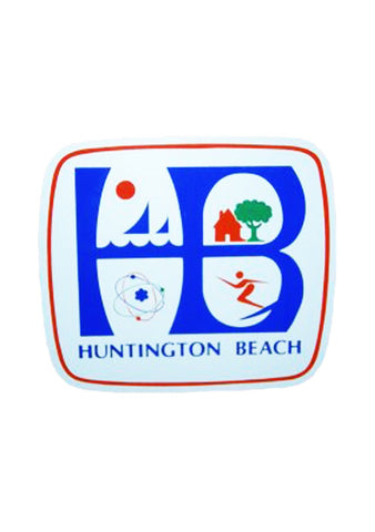 HB City Logo Sticker