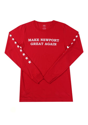 Womens Greater Newport L/S Tee