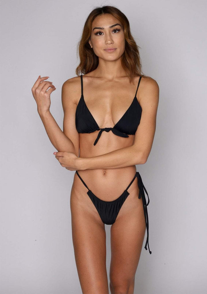 Saasha Front-Tie Swim Top (Past Season)
