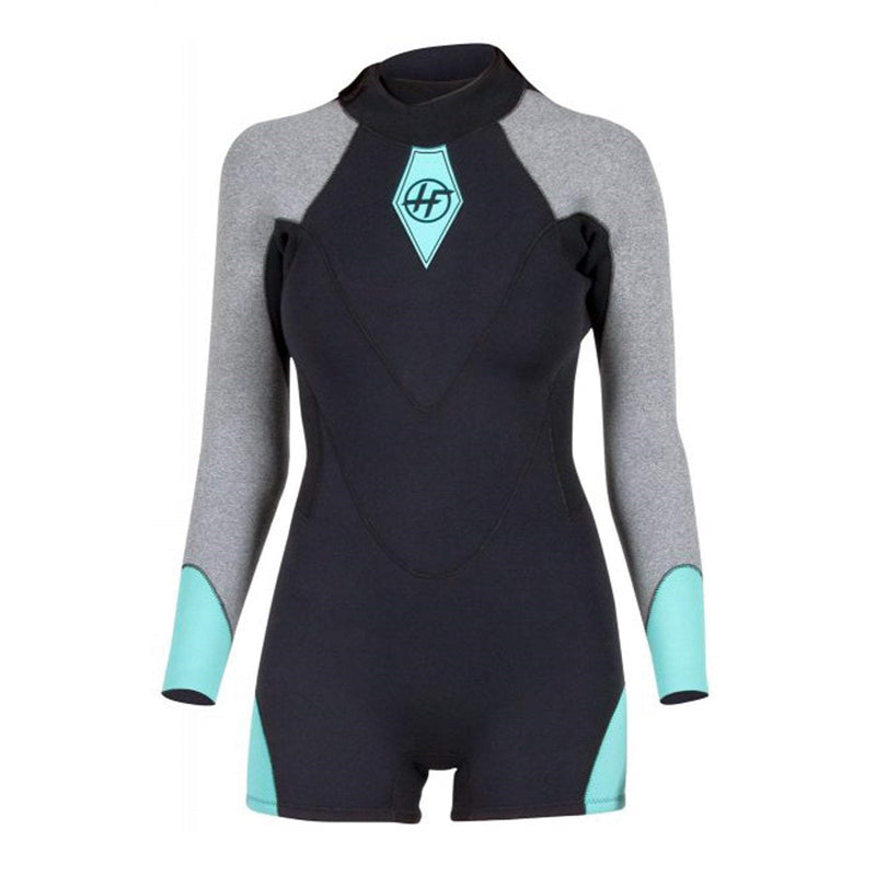 Hyperflex Women's VYRL 2.5mm Back Zip Long Sleeve Springsuit