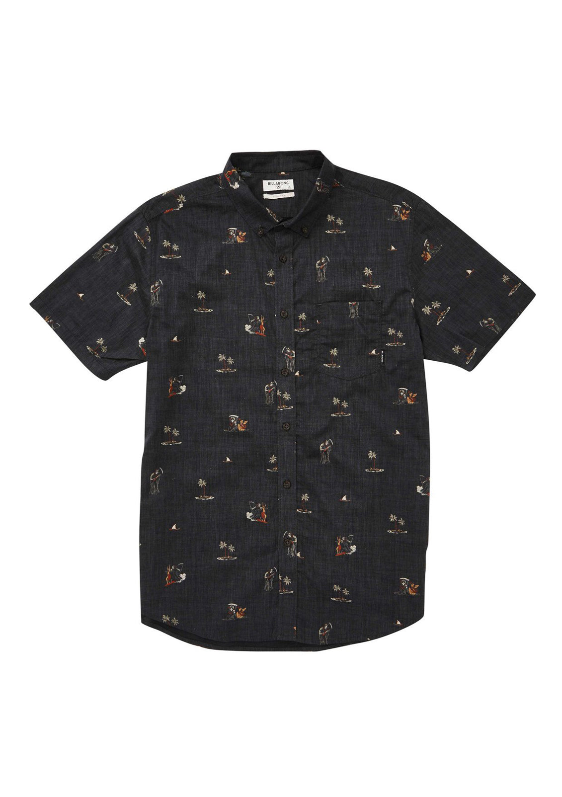 Little Boy's Sundays Floral Shirt