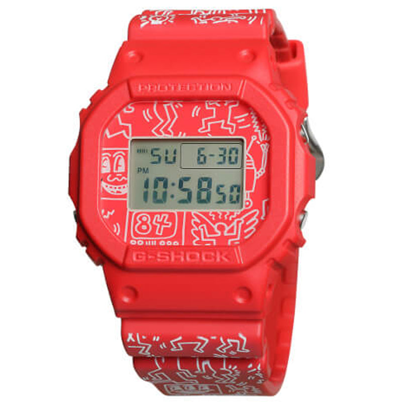 Keith Haring x G-Shock DW5600-4 Watch