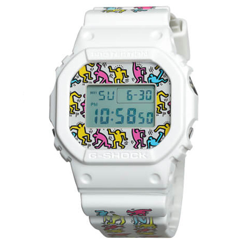Keith Haring x G-Shock DW5600-7