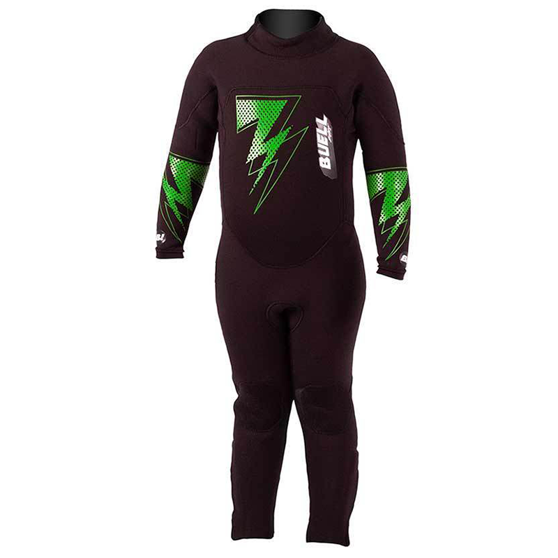 Little Kids Buell RBZ Bolt 3/2mm Back Zip Fullsuit