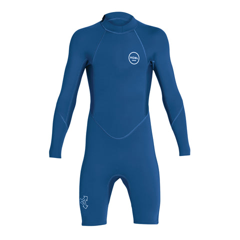 Xcel Youth Axis 2mm L/S Spring Suit Wetsuit FA19