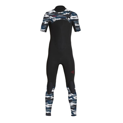Xcel Youth Comp S/S Chest Zip Fullsuit Wetsuit FA19